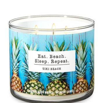 TIKI BEACH3-Wick Candle