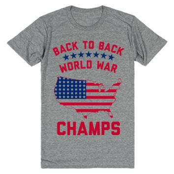 America: Back to Back World War Champs!