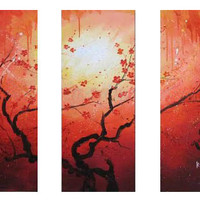 Integral Blossom Canvas Wall Art