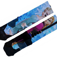 Frozen Custom Nike Elite Socks