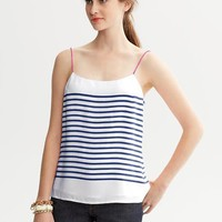 Banana Republic | Striped Thin-Strap Tank