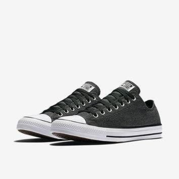 ICIKGQ8 the converse chuck taylor all star washed chambray low top unisex shoe