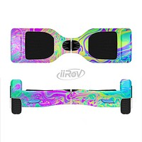 The Neon Color Fushion Full-Body Skin Set for the Smart Drifting SuperCharged iiRov HoverBoard