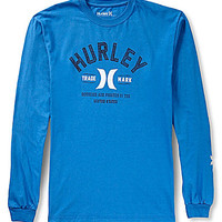 Hurley Standard Issue Long-Sleeve Logo Tee