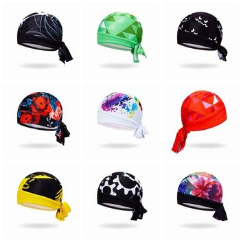 Weimostar men Cycling Cap Breathable Pirate Headband MTB Bicycle Skull Head Scarf Bandana Anti-sweat Headwear