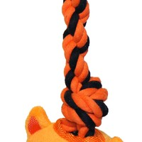 Tuggerz Interactive Toy W/invincible Squeaker