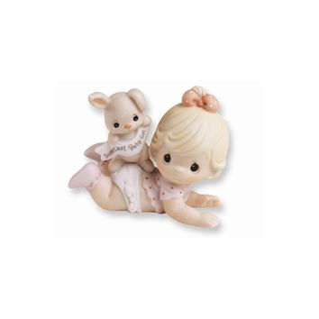 Precious Moments Porcelain Baby Girl Figurine