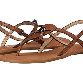 COACH Women's Camara slingback Thong Sandals, Brown, Size 5.5