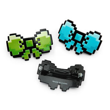 Mini 8-Bit Hair Bows