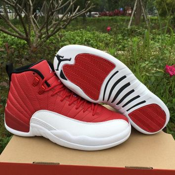 Air Jordan 12 ¡°Gym Red¡± AJ 12 Men Basketball Shoes