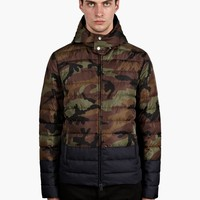 Valentino Men's Camouflage Padded Jacket