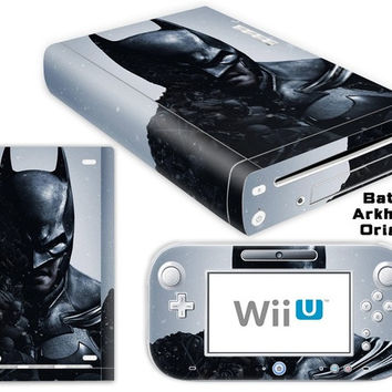 Batman Arkham Origins Decorative Skin/Decal/Stiker /Cover for Nintendo Wii U(One Set)-YCdecal