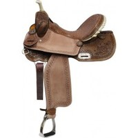 "14"" double t saddles, cheap saddles, barrel saddlery"