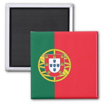 Magnet with Flag of Portugal