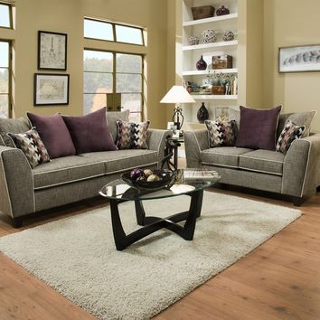 4160 - The San Miguel Living Room Set - Grey