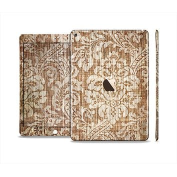 The Antique Floral Lace Pattern Skin Set for the Apple iPad Air 2