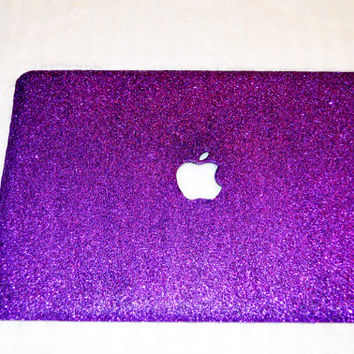 Purple Glitter MacBook Pro Case