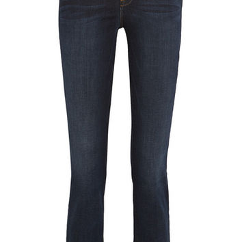 FRAME - Le High cropped slim-leg jeans