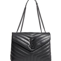 Saint Laurent Medium LouLou Matelassé Leather Shoulder Bag | Nordstrom