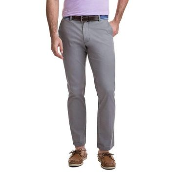 Stretch Breaker Pants in Anchor Gray by Vineyard Vines