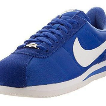 Nike Men's Cortez Basic Nylon Blue/white 819720 410