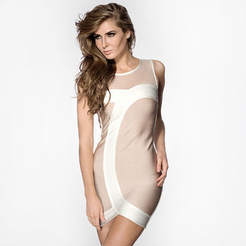 robe ete 2016 summer style new bodycon bandage dress celebrity dresses women robe moulante SBK120