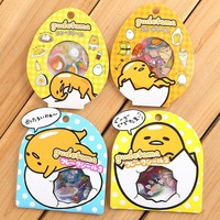 Gudetama 60-Piece Sticker Set