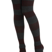 Autumn Brigade Tights | Mod Retro Vintage Tights | ModCloth.com
