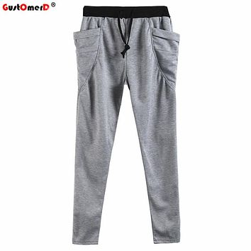 GustOmerD Spring Autumn Unique Sporting Pocket Mens Joggers Cargo Men Pants Sweatpants Harem Pants Men Jogger Pants Men