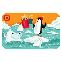 Penguin with Bear GiftCard