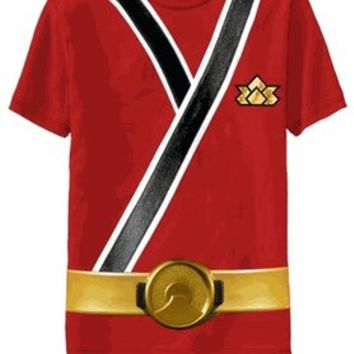 Power Rangers Red Samurai Ranger Uniform Monster Toddler T-shirt  - Power Rangers - Free Shipping on orders over $60 | TV Store Online