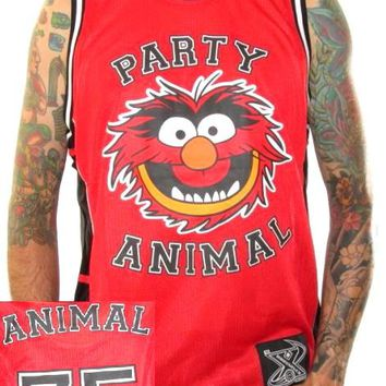 Muppets Basketball Jersey - Party Animal