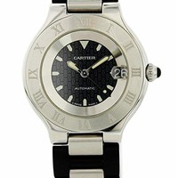Cartier Must 21 Automatic-self-Wind Male Watch (Certified Pre-Owned)