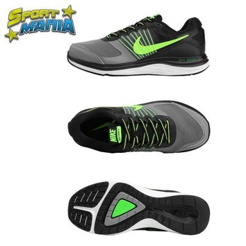 """Ready Stock"" NIKE DUAL FUSION X1 ""Grey&Green"" Men Sport Running shoes"
