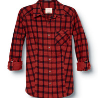 Ski Lodge Flannel Shirt - QUIKSILVER