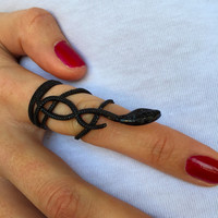 Snake Serpent Mid Ring, Everyday Jewelry, Wedding Accessories Ring, Snake