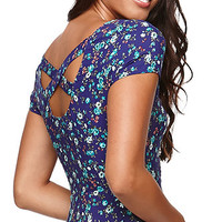 LA Hearts Short Sleeve Cross Back Dress at PacSun.com