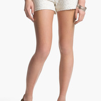 Mimi Chica Lace Shorts (Juniors) | Nordstrom