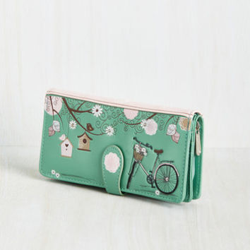 Don't Forget to Ride! Wallet | Mod Retro Vintage Wallets | ModCloth.com