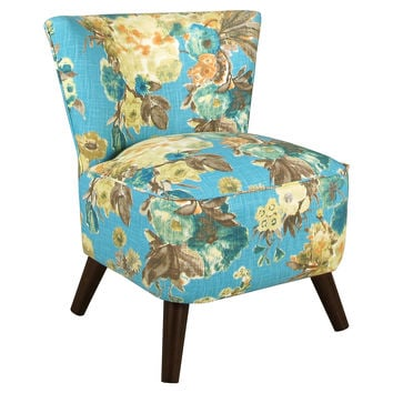 Barnes Modern Chair, Lagoon Floral, Accent & Occasional Chairs