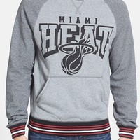 Men's Mitchell & Ness 'Miami Heat - Broad Street' Crewneck Sweatshirt