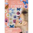 3D Festival Face Stickers Multi One Size For Women 25811495701