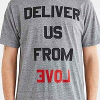Deter Deliver Us Tee- Grey