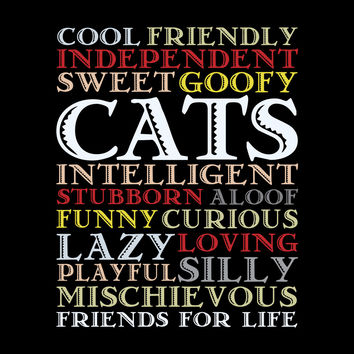 Cats Are Best Friends For Life T-Shirt