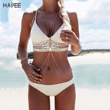 Floral Print Bikini Swimsuit  Women Afghan Quartz Malai biquines Two Piece Swimsuit Super Cute Strappy Bustier maillot de bain