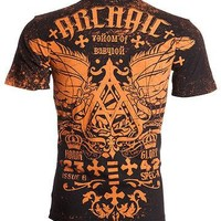 Licensed Official ARCHAIC by AFFLICTION Mens T-Shirt VANISH Biker MMA UFC American Fighter $40 NWT