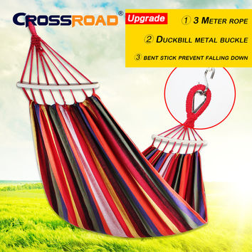CR garden swing for children greenhouse hanging chair Camping sleeping hammock double rede outdoor furniture hunting tent hamaca
