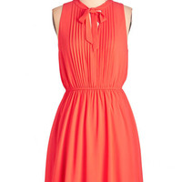 Mid-length Sleeveless A-line Anything Keen Happen Dress