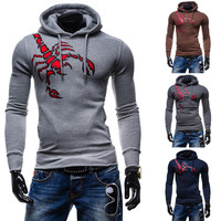 Hoodies Men Hats Pullover Print Tops Jacket [6528649731]