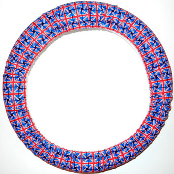 Britain's Best Flag Steering Wheel Cover